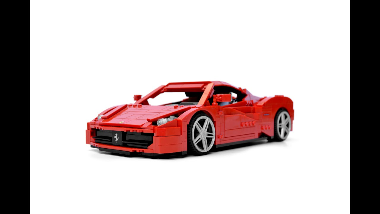Lego Ferrari 458 Italia Youtube