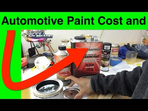Automotive paint cost medium or high end clear coat for Car paint cost