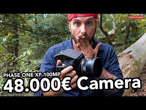 48.000€ CAMERA 😳What It's like to use PHASE ONE XF 100MP