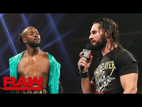 Kofi Kingston and Seth Rollins await Lesnar's decision: Raw, May 27, 2019