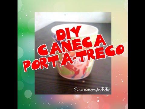 DIY Caneca Porta Treco