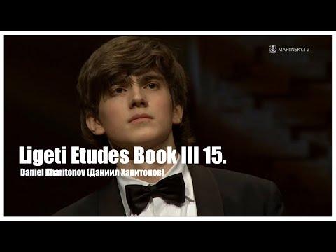 Ligeti Etudes Book III 15. White on White - Daniel kharitonov(Даниил Харитонов) -