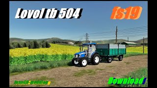 "[""tractor"", ""farmingsimulator19"", ""lovol"", ""mods"", ""mods español""]"