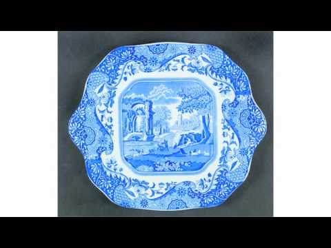 Spode Blue Italian China - Blue White Italian