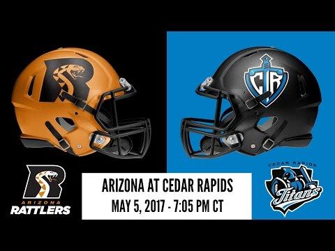Week 12 | Arizona Rattlers at Cedar Rapids Titans