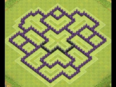 Clash of Clans - Town Hall 8 Farming Base *!!AWESOME!!*