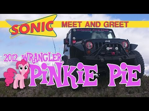 Meet Brook And Pinkie Pie 2012 Wrangler From The Orlando Jeep Club