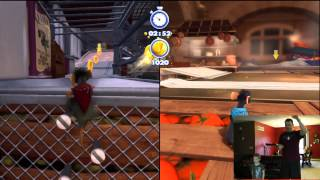3rd level on Ratatouille from Kinect Rush A Disney Pixar Adventure