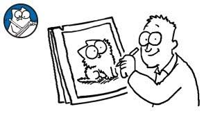Simon Draws: The Kitten - Simon's Cat | CREATIVE
