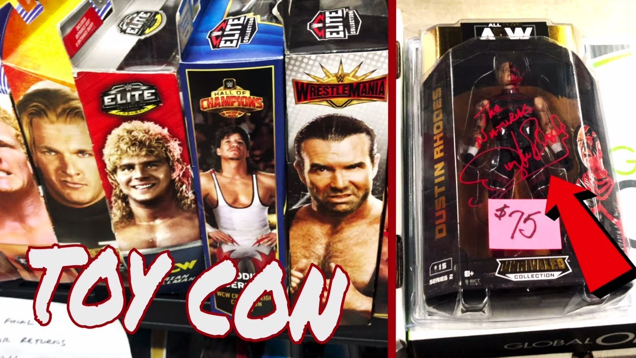 WWE Figure HUNTING at TOY COY TOY SHOW!!!!!