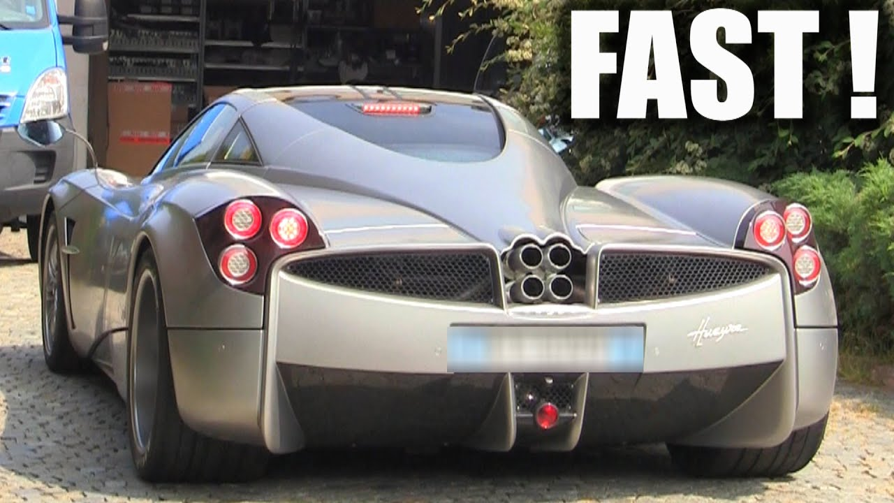 Pagani Huayra BRUTAL Acceleration!! - YouTube