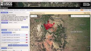 Search using Interactive Map Interface