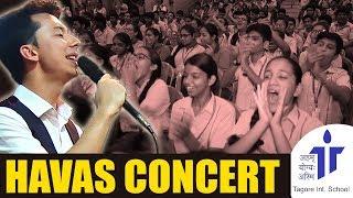 CONCERT HAVAS Guruhi Uzbekistan India Delhi Tagore International School 24 08 2018