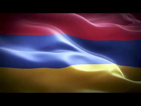 Armenia Anthem \u0026 Flag FullHD / Армения гимн и флаг / Հայաստանն օրհներգը եւ դրոշը: