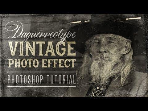 Daguerreotype Vintage Photo Effect Photoshop Tutorial (+ FREE Textures!)