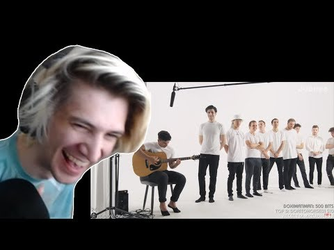 XQc REACTS To 12 Vs 1: Speed Dating 12 Musicians Without Seeing Them