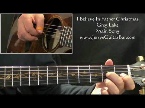 How To Play Greg Lake I Believe In Father Christmas (intro Only)