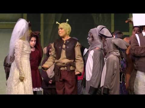 "BREE RHODES as Shrek in ""Shrek - The Musical"""