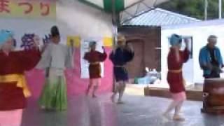 福井県 北潟どっしゃどっしゃ踊り (保存会の皆さん) No.1