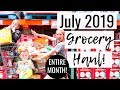 July 2019 Grocery Haul on a Budget | Costco Grocery Haul and Target Grocery Haul