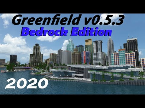 Greenfield V0.5.3 - Bedrock/Windows 10 Edition - 2020
