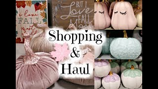 🎃FALL DECOR SHOP WITH ME & HAUL/ AT HOME STORE🎃