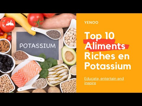 Top 10 Aliments Riches en Potassium - YouTube