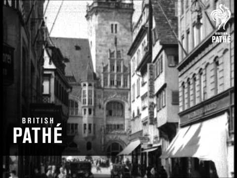 A City Of Contrasts - Stuttgart (1934)