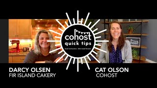 Cohost Quick Tips: Darcy Olsen