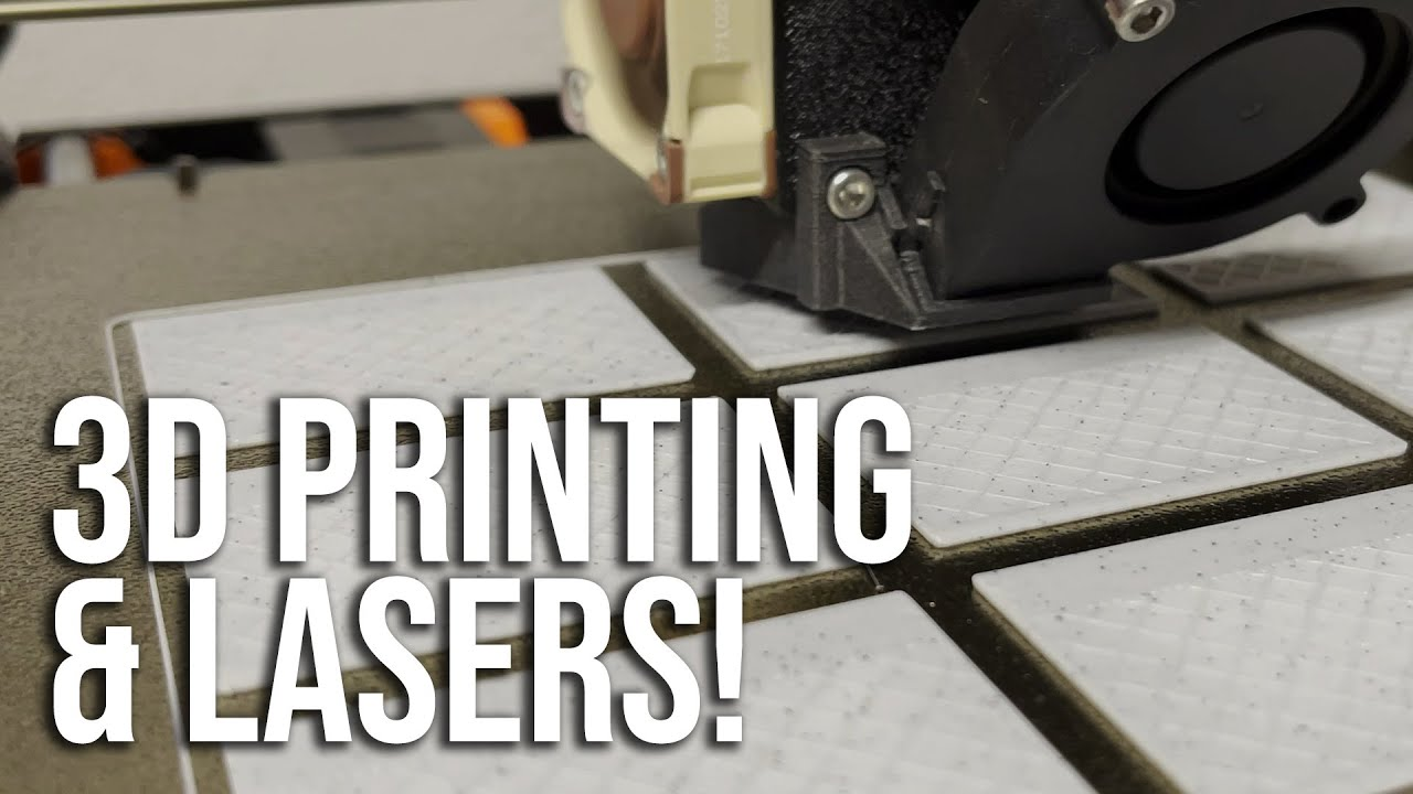 Making Gifts for Family using 3D PRINTING + LASERS!