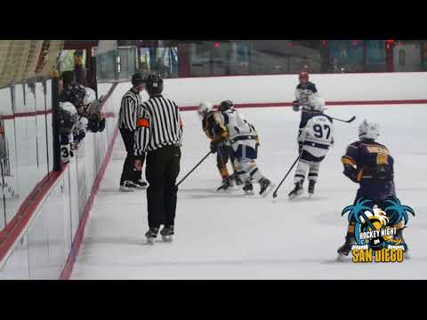 San Diego Oilers vs Gold Rush Hockey Squirt BB 02 04