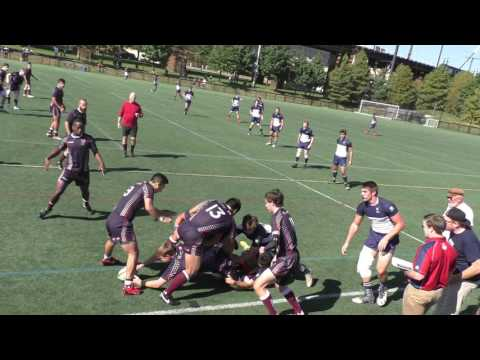 Penn Rugby vs. Yale (10/15) Part 1