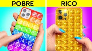 ¡OH, NO, ESTOY QUEBRADO! || Trucos de ricos para hacerse popular con 123 GO! GOLD