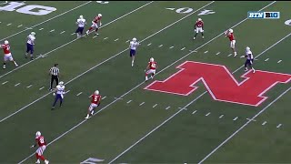 Marcus Newby Pick Six vs. Northwestern