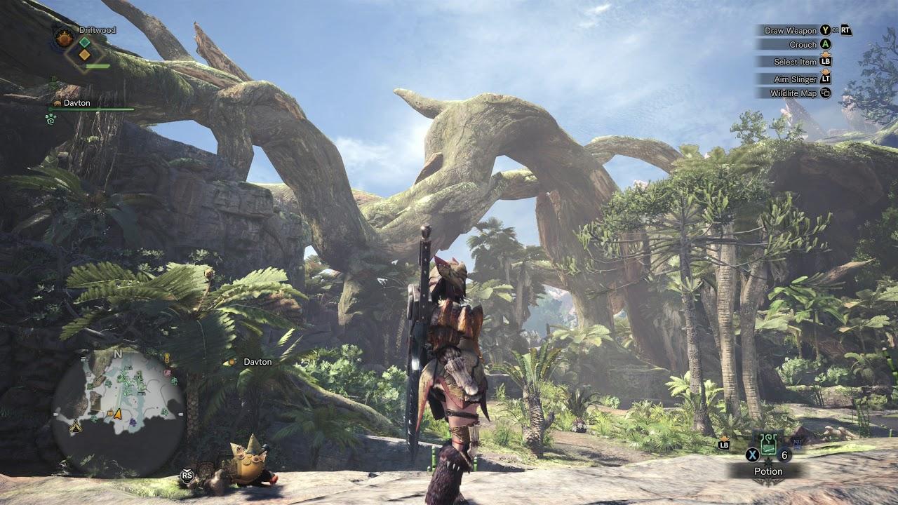 Image result for monster hunter world hd landscapes