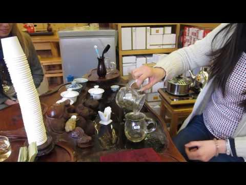 Tea tasting, Shanghai 2013
