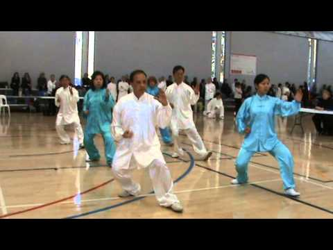 Tradition Yang Style Taichi group performance