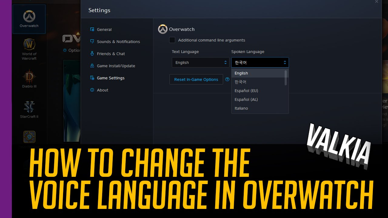Quick Guide: How to change spoken voice language in ...