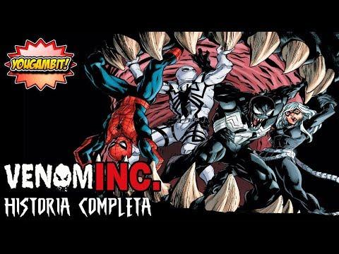 """MEGA-VIDEOCOMIC: VENOM INC. """"GUERRA DE SIMBIONTES"""" - Historia Completa"""