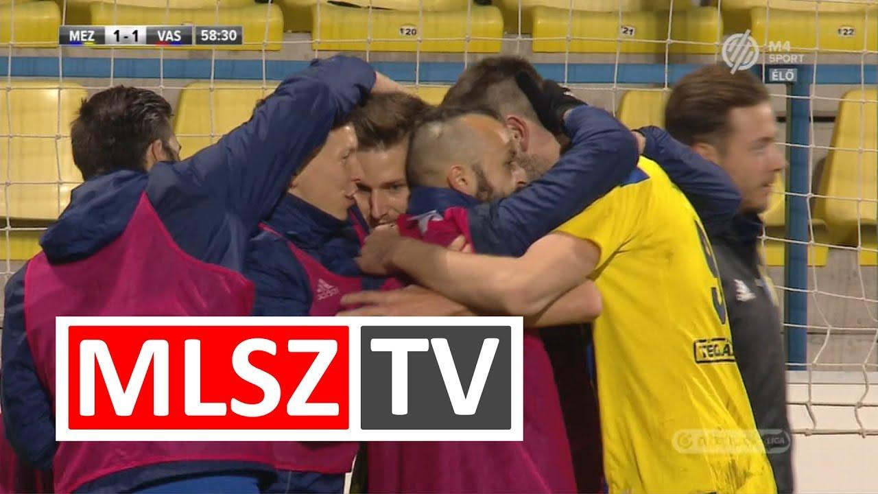 Felix Burmeister gólja a Mezőkövesd Zsóry FC – Vasas FC mérkőzésen
