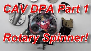 How a Diesel Injector Pump works CAV DPA Build Part 1