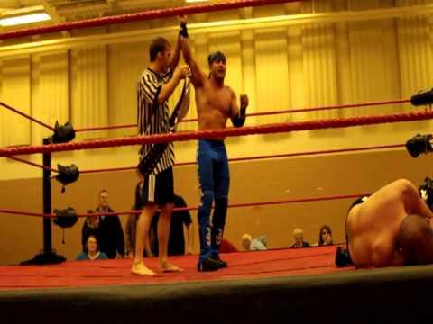Wrestler Cameron Matthews Gets Physically Involved