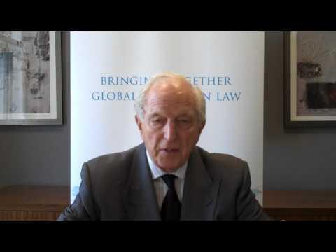 Lord Woolf introduces the Qatar Law Forum