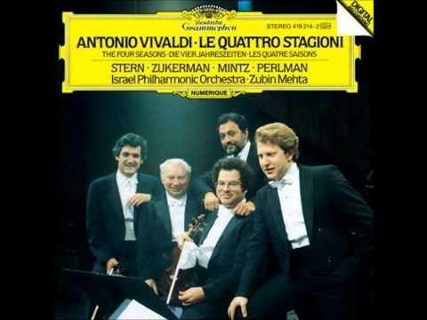 ~ Antonio Vivaldi  Négy évszak:Isaac Stern  Pinchas Zukerman  Shlomo Mintz  Itzhak Perlman ~