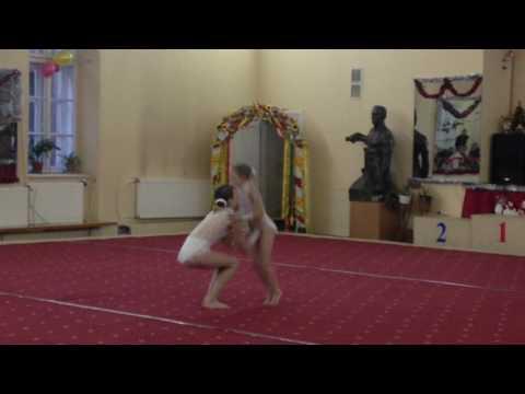 Катя и Фрося, Львов 2016 категория 11-16