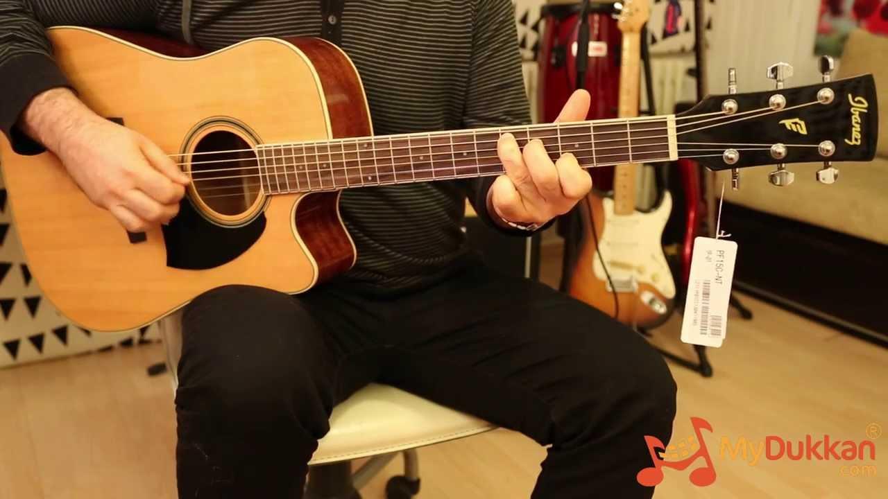Ibanez PF15C Akustik Gitar Incelemesi Hizli Video