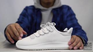 0354c6f0675 Adidas Tubular Shadow White Off White Unboxing Video At Exclucity