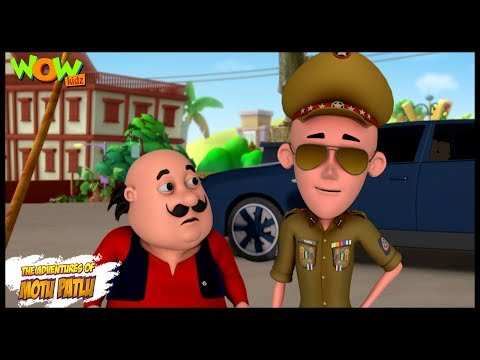 Inspector Patlu - Motu Patlu in Hindi - ENGLISH, FRENCH & SPANISH SUBTITLES! - 3D Animation Cartoon thumbnail
