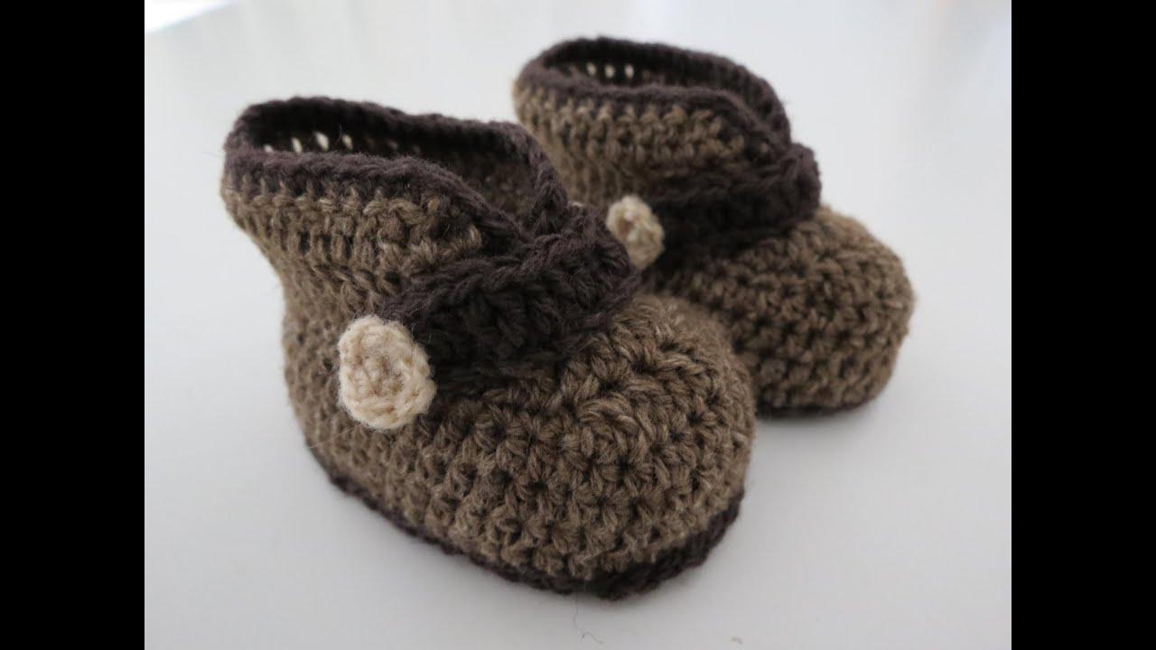 Babyschuhe häkeln - babyschuhe h keln - einebinsenweisheit