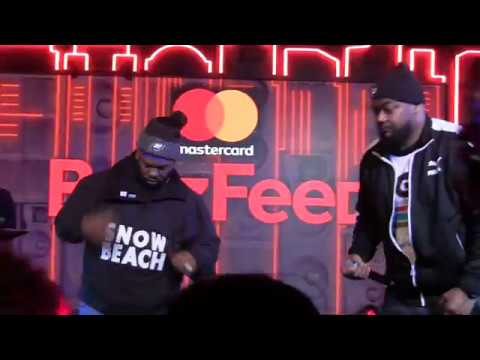 ghostface killah and raekwon the chef live pt.2(gza, enters the ring)